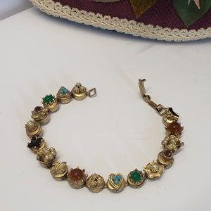 Unique vintage Charm Bracelet